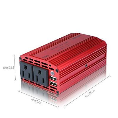 Power to Inverter With Dual USB Car