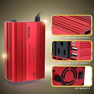 Power to Inverter With 4.2A USB Car