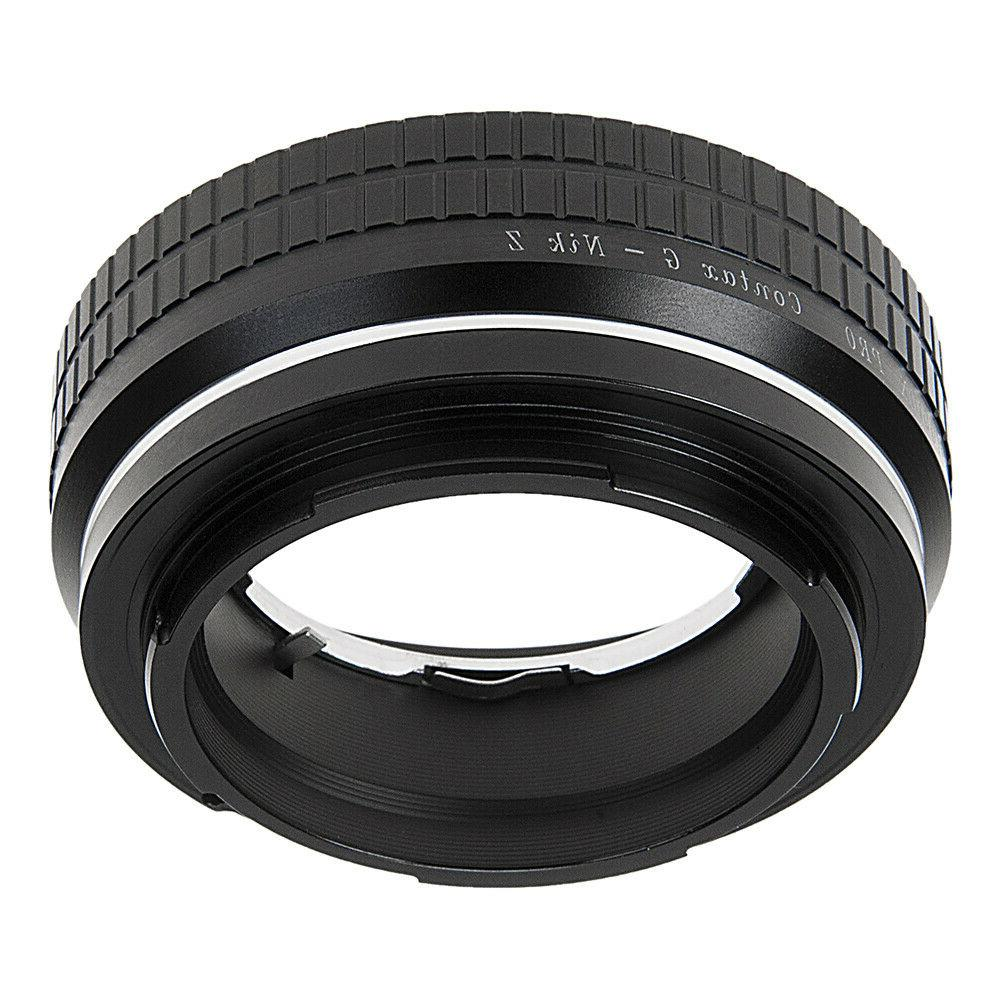 Fotodiox Lens Compatible with G to Nikon Z