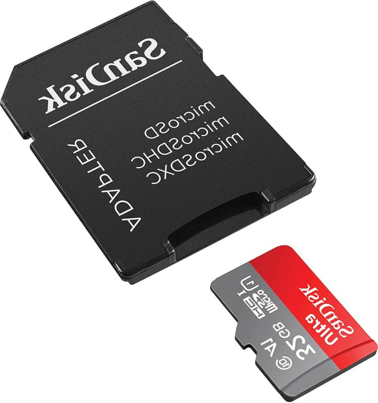 SanDisk UHS-I Memory with Adapter - 98MB/s, C10, U1,