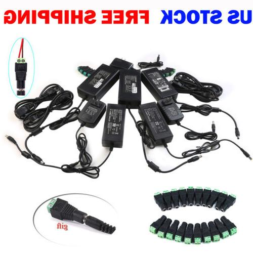 12V 1/2/3/5/6/8/10A AC Adapter for LED