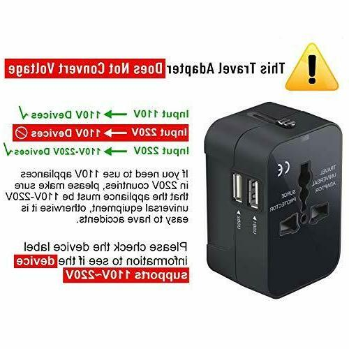 Travel Adapter, Worldwide in One Size