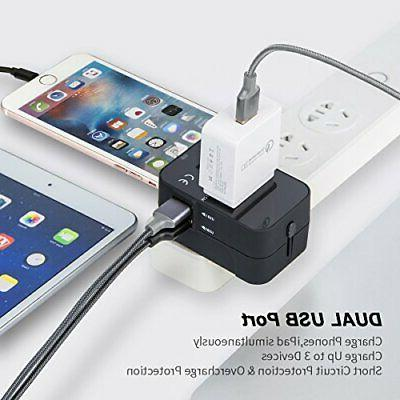 Travel Adapter, in One Universal