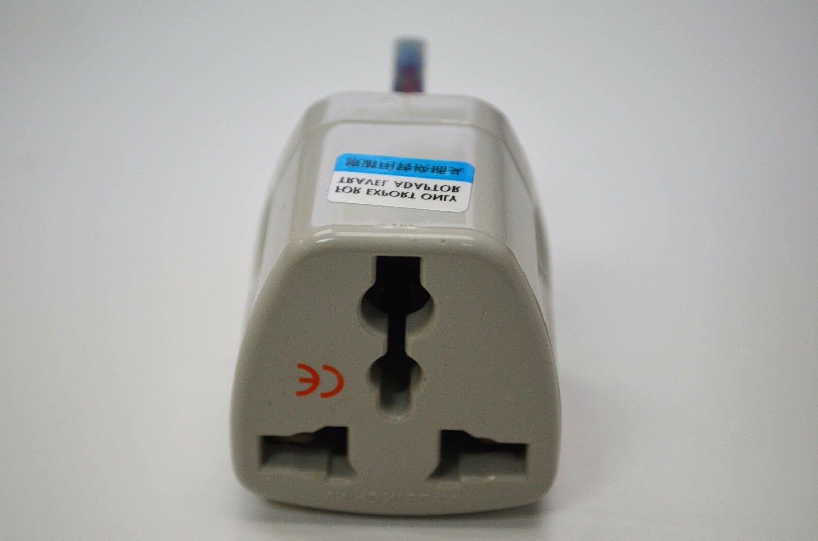 Travel Universal Plug Type G for UK, Iraq Pack