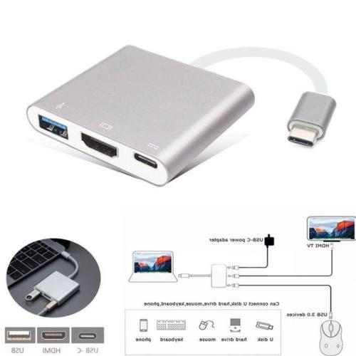 to USB-C USB 3 1 For Macbook