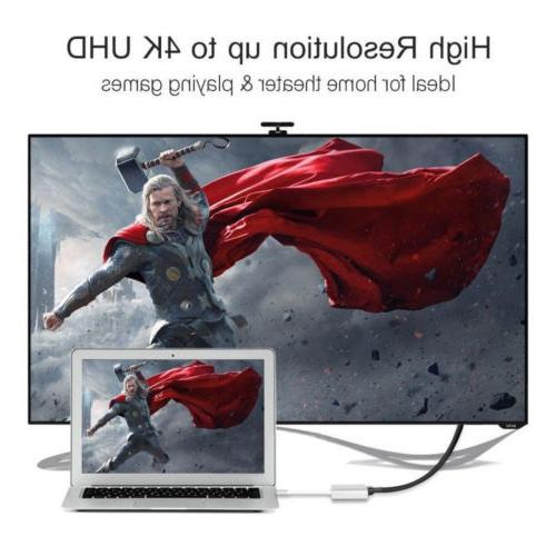 Type C USB 3.1 to 4K HDMI USB 3.0 3 For Macbook