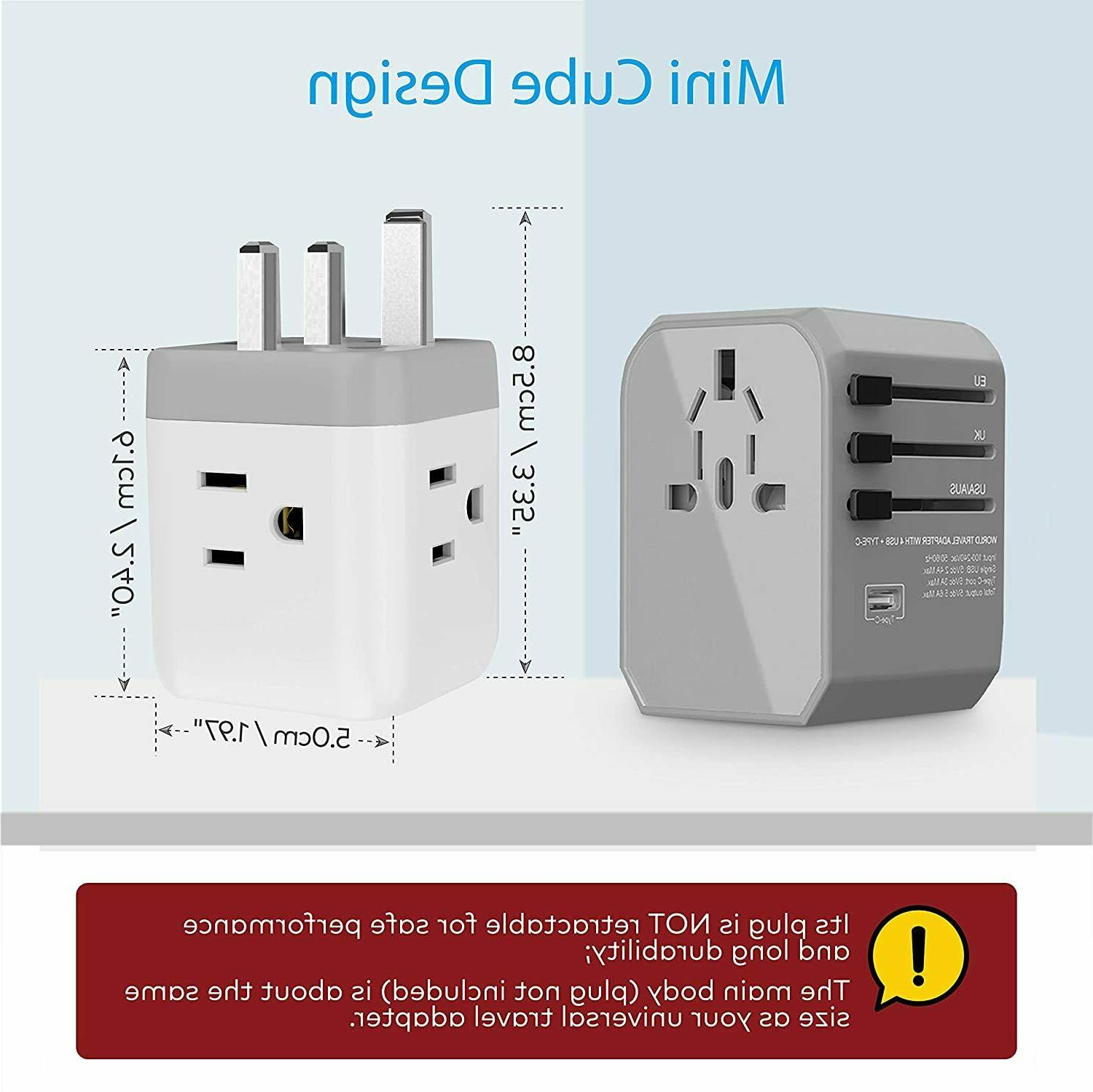 UK to US Power USB and