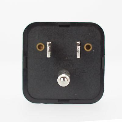 Miami Travel Adapter, EU AU CN to US - Grounded