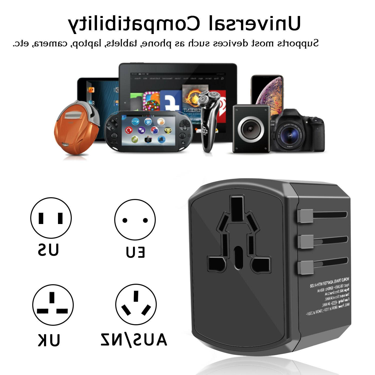Universal Adapter Charger Converter Outlet