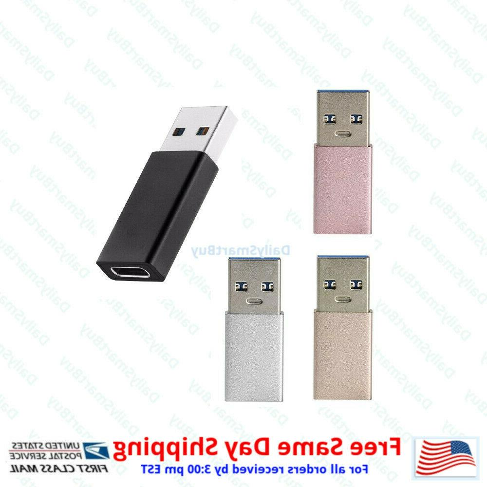 USB Female to USB Type A Adapter Converter