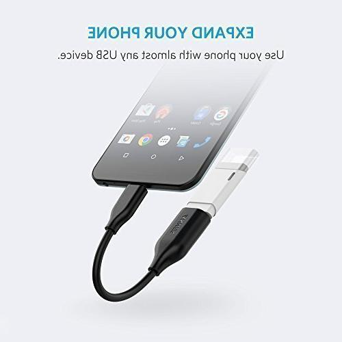 Anker to 3.1 Adapter, Female into Female, Uses Compatible Note 8, S8+ S9, Nexus V20 G5 and