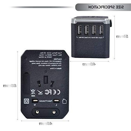 USB Power - 5 Charger - I Outlets - EU -