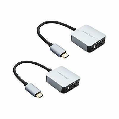 usb c to vga adapter 2 pack