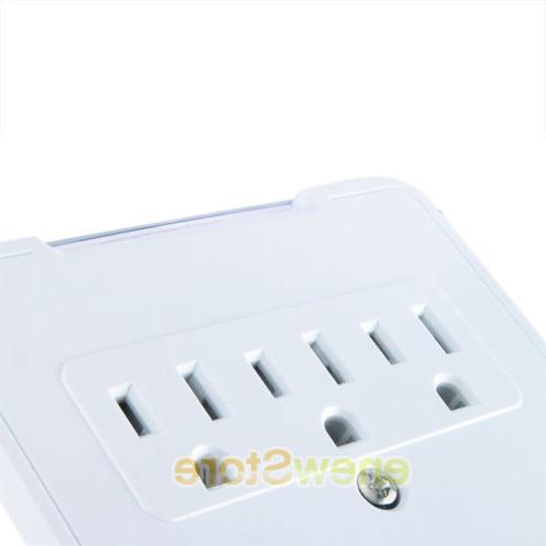 USB Outlet Plug Tap Electrical Surge Adapter