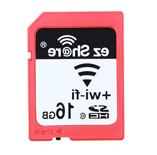 Wifi Sd Memory Card 16GB Class 10 New New Inc® 2nd Genera