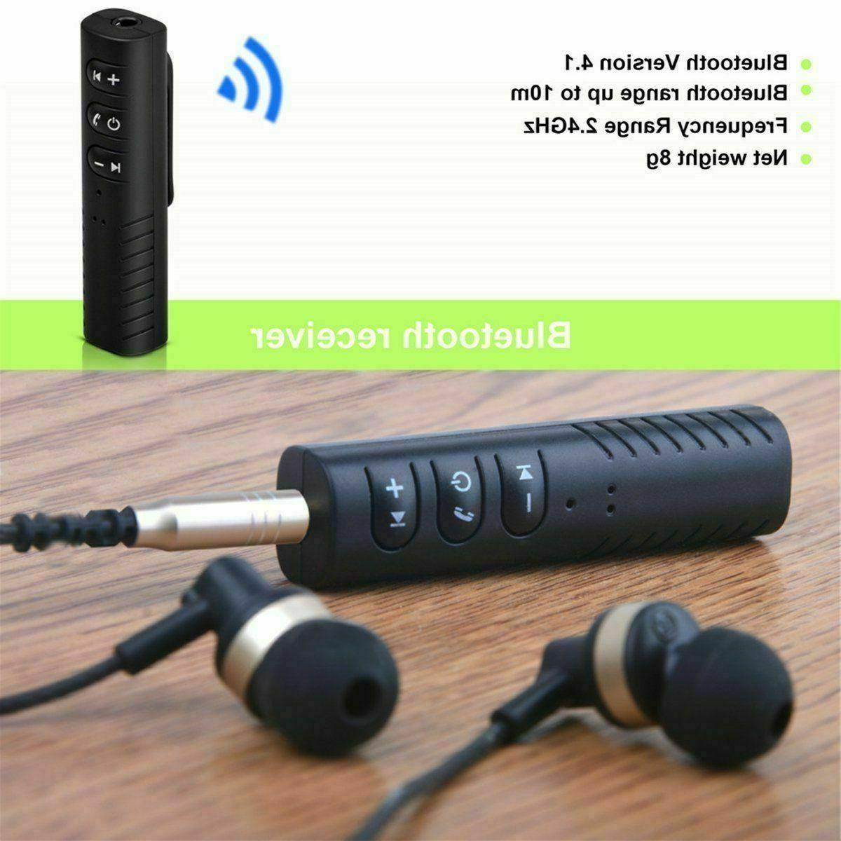Wireless Receiver AUX Audio Stereo Hands Free
