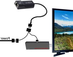 Ethernet Adapter for Media Streaming Devices - Media Sticks