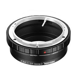 Neewer Lens Mount Adapter for Canon FD, FL Lens to Sony Alph
