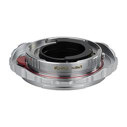 Fotodiox Pro Lens Mount Double Adapter Alpa 35mm SLR and Lei