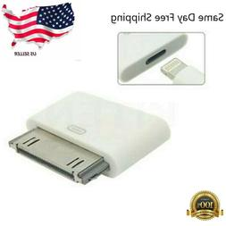 Lightning 8 Pin Female to 30 Pin Male Adapter for iPhone 4/4
