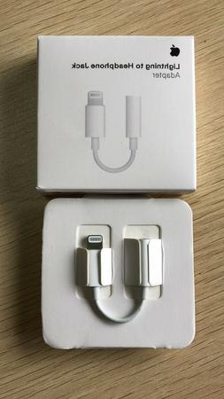 Apple Lightning to 3.5 mm Headphone Adapter iPhone Xs/Xs Max