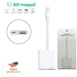 Lightning to USB Female OTG Adapter Cable With Charging for