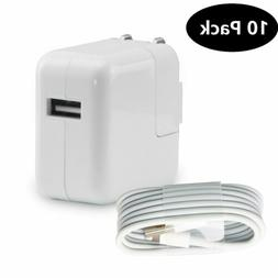 Lot 12W USB Wall Charger Power Adapter For Apple iPad Mini 3