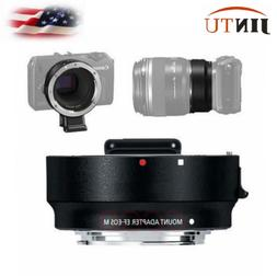 JINTU Metal EF-EOS M Mount Adapter Ring For Canon EF Lens to