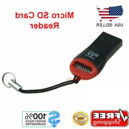 Micro SD to USB Memory Card Adapter Reader Dongle Thumb Driv