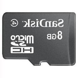 SanDisk 8GB Micro SDHC Memory Card with SD Adapter