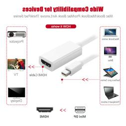 Mini Display Port Thunderbolt DP To HDMI Adapter for Apple M