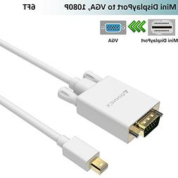 Mini Displayport to VGA Cable ,FOINNEX Mini Display Port  to