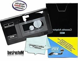 Motorized VHS-C Cassette Adapter For JVC C-P7U CP6BKU C-P6U,