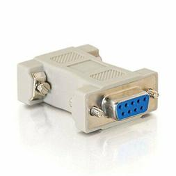 C2G MultiSync VGA HD15 Male to DB9 Female Adapter - 1 x HD-1
