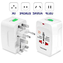 MAXAH Surge Protector All in One Universal Worldwide Travel
