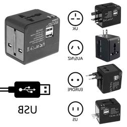 New 4 In 1 Universal Power Car Adapter Electric Converter Wo