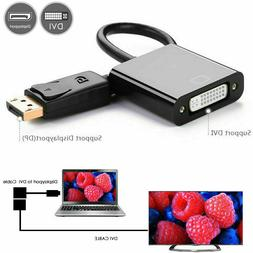 NEW DisplayPort  DP Male to DVI  Female Adapter Cable Conver