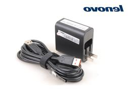 New Original OEM LENOVO Yoga 3 11 14 40W USB Charger + Cable