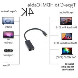 NEW USB C to HDMI Adapter 4K @60Hz Type C 3.1 Male to HDMI F