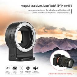 Viltrox NF-E1 Auto Focus Lens Adapter Ring for Nikon F-Mount