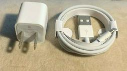 OEM Apple iPhone Original Charger Adapter & USB Cable 7 8 Pl
