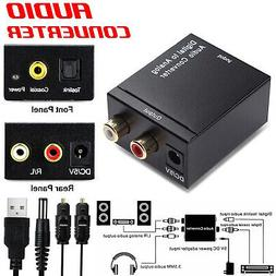Optical Coaxial Toslink Digital to Analog Audio Converter Ad