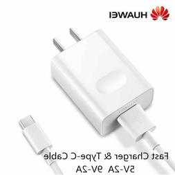 Original HUAWEI Fast Charger Adapter Type-C Cable For P20 P1