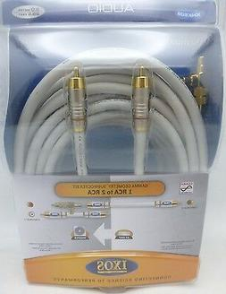 IXOS Overture XHK506 9 meter Subwoofer Cable w/y-adapter 29