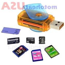 New Portable USB 2.0 Adapter Micro SD SDHC Memory Card Reade