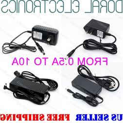 Power Supply Adapter AC to12VDC 0.5/1/2/3/4/5//6/8/10A 5050
