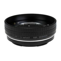 pro lens adapter compatible with select contax