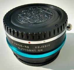 Fotodiox Pro ND Throttle Lens Mount Adapter, Fusion Canon EF