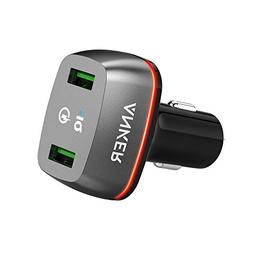Anker Quick Charge 2.0 36W Dual USB Car Charger, PowerDrive+