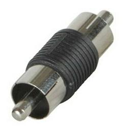 PARTS EXPRESS RCA Plug to RCA Plug Adapter Plastic